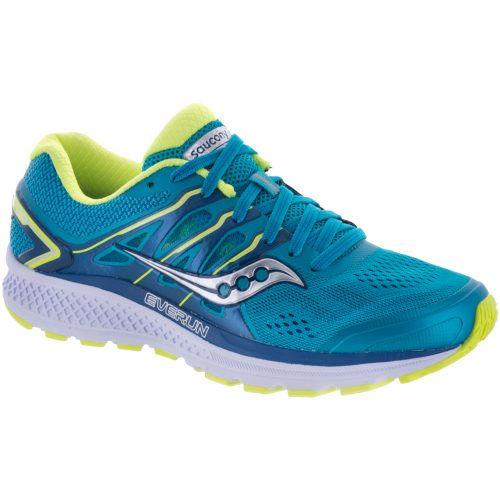 Saucony Omni 16: Saucony Women's Running Shoes Teal/Citron