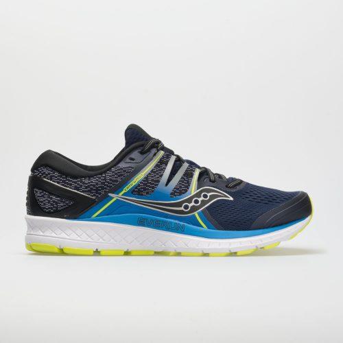 Saucony Omni ISO: Saucony Men's Running Shoes Navy/Blue/Citron