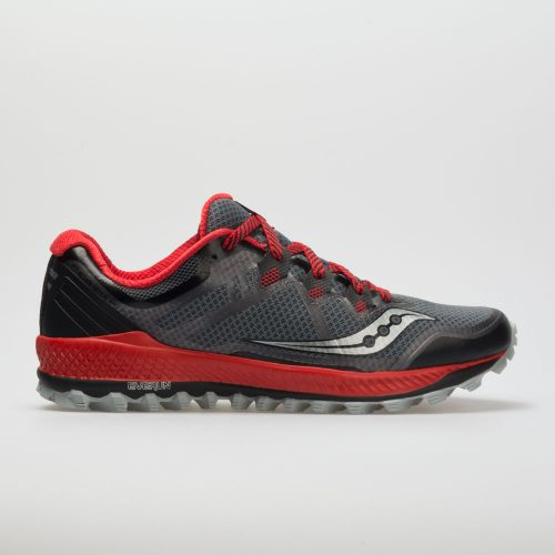 Saucony Peregrine 8: Saucony Men's Running Shoes Black/Red