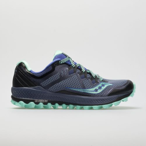 Saucony Peregrine 8: Saucony Women's Running Shoes Grey/Violet/Aqua