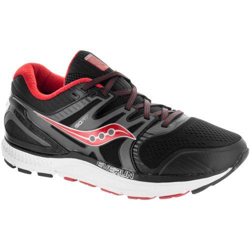Saucony Redeemer ISO 2: Saucony Men's Running Shoes Grey/Black/Red