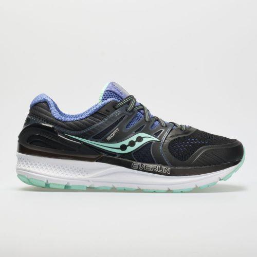 Saucony Redeemer ISO 2: Saucony Women's Running Shoes Black/Aqua/Violet
