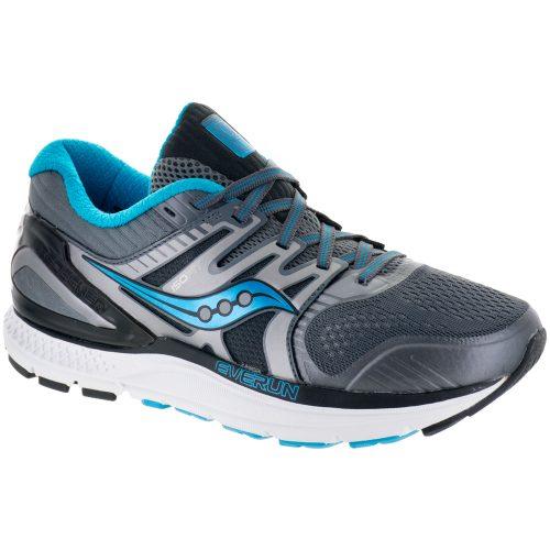 Saucony Redeemer ISO 2: Saucony Women's Running Shoes Grey/Black/Blue