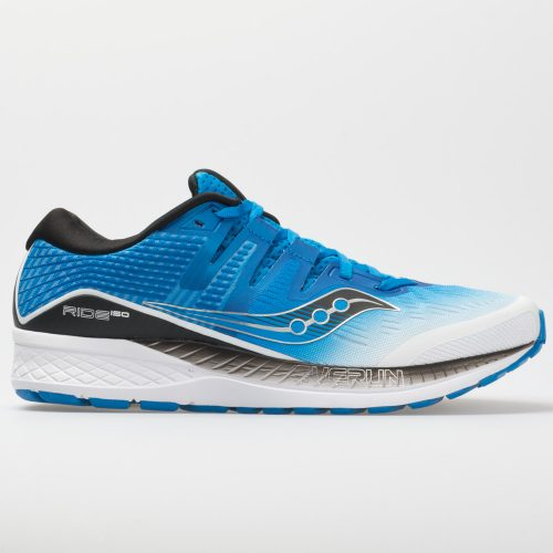 Saucony Ride ISO: Saucony Men's Running Shoes White/Black/Blue