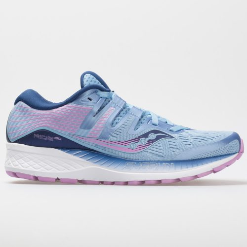 Saucony Ride ISO: Saucony Women's Running Shoes Blue/Navy/Purple