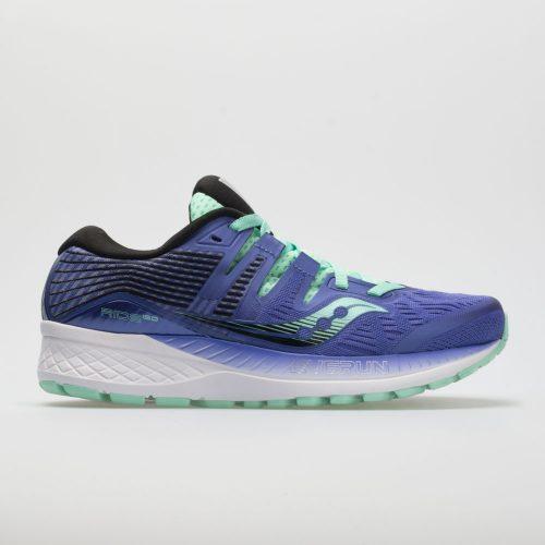 Saucony Ride ISO: Saucony Women's Running Shoes Violet/Black/Aqua