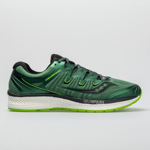 Saucony Triumph ISO 4: Saucony Men's Running Shoes Green/Black