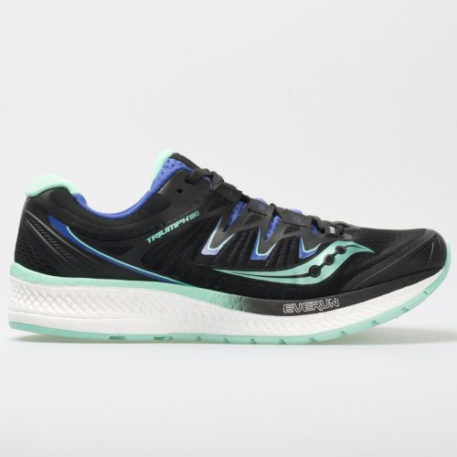 Saucony Triumph ISO 4: Saucony Women's Running Shoes Black/Aqua/Violet