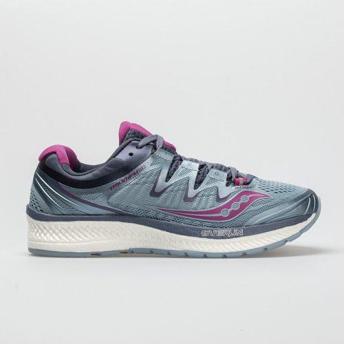 Saucony Triumph ISO 4: Saucony Women's Running Shoes Fog/Grey/Purple