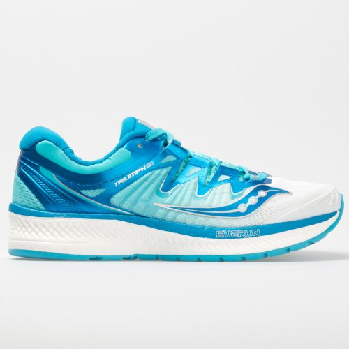 Saucony Triumph ISO 4: Saucony Women's Running Shoes White/Blue