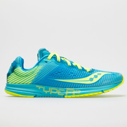Saucony Type A 8: Saucony Women's Running Shoes Blue/Citron