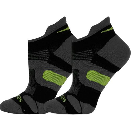Saucony XP Lite Cushion No Show Tab Socks 2 Pack: Saucony Socks
