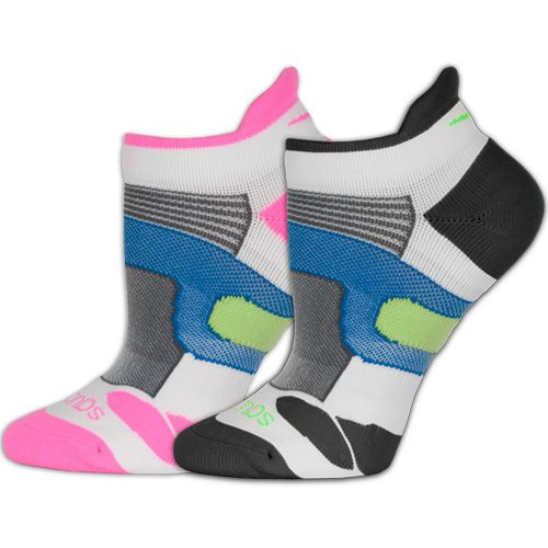 Saucony XP Lite Cushion No Show Tab Socks 2 Pack: Saucony Socks