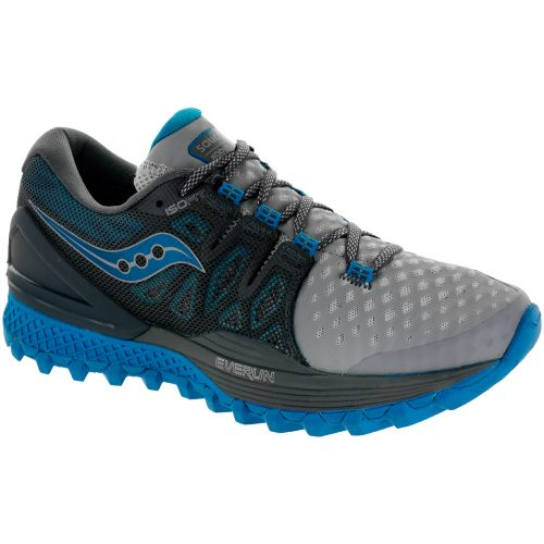 Saucony Xodus ISO 2: Saucony Women's Running Shoes Grey/Blue