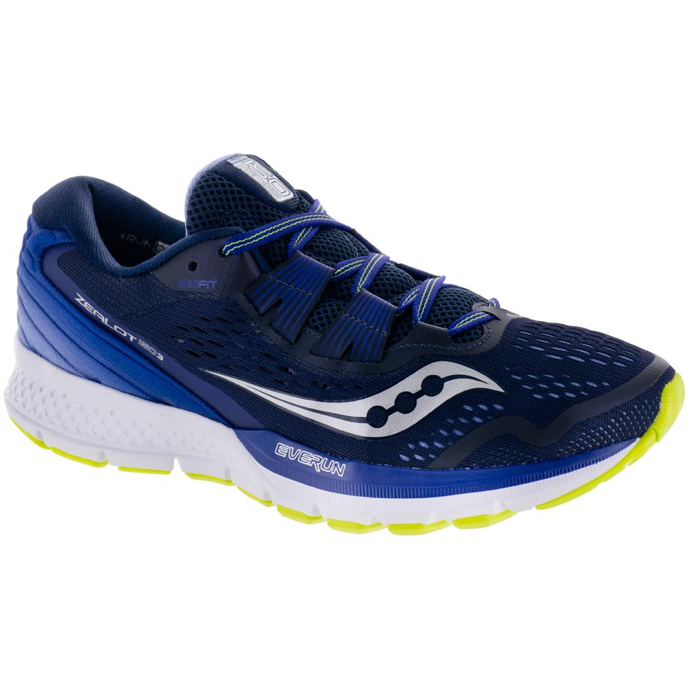 Saucony Zealot ISO 3: Saucony Women's Running Shoes Navy/Purple