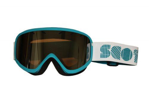 Scott Mia Goggle - Women's - ocean blue/white - silver chrome, adjustable