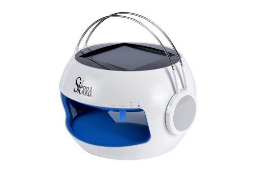 Sierra Solar Charging Bluetooth Wireless Speaker - blue, one size