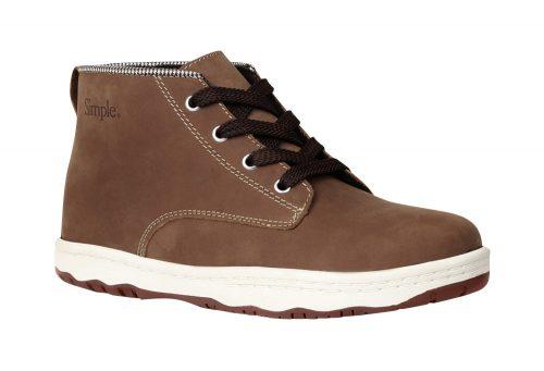 Simple Barney 91 Leather Shoes - Men's - dark tan, 8