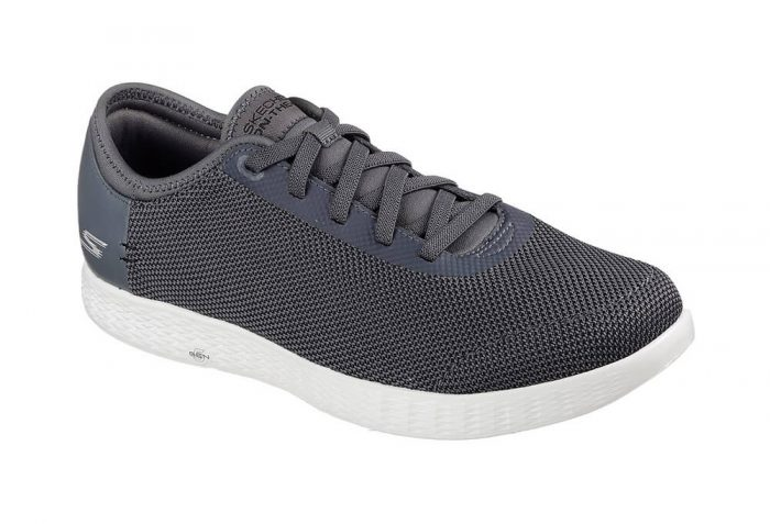 Skechers 2 Tone Mesh Shoes - Men's - charcoal, 12.5