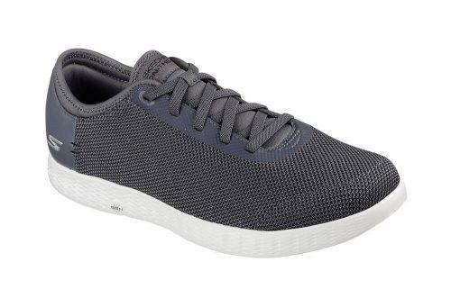 Skechers 2 Tone Mesh Shoes - Men's - charcoal, 14
