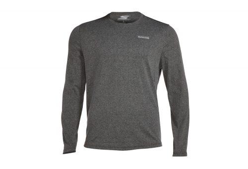 Skechers Falls Long Sleeve Shirt - Men's - charcoal, large