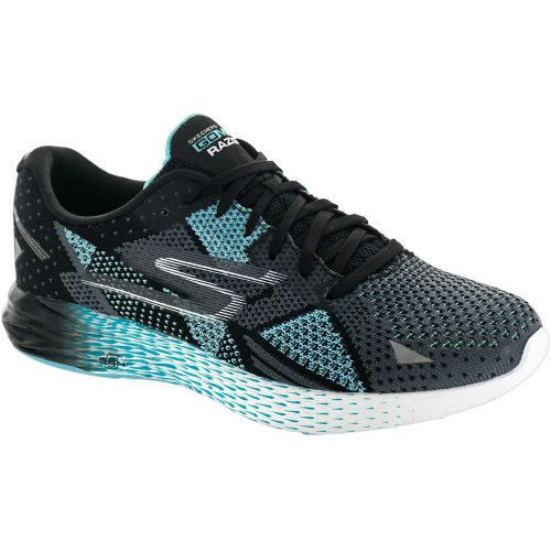 Skechers GOmeb Razor: Skechers Performance Women's Running Shoes Black/Aqua