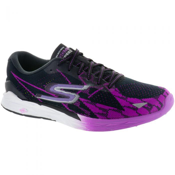 Skechers GOmeb Speed 4: Skechers Performance Women's Running Shoes Black/Pink