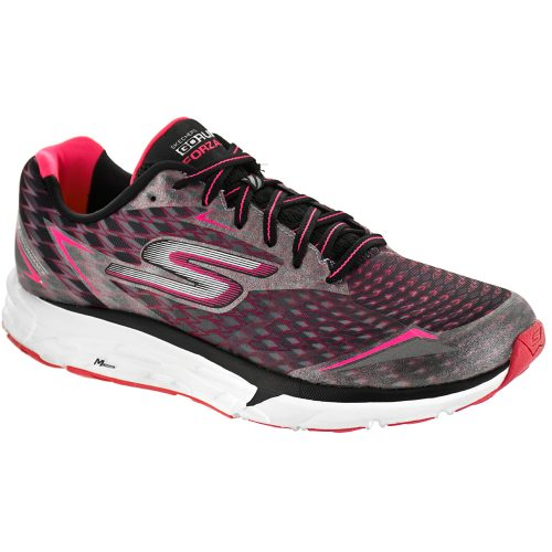 Skechers GOrun Forza 2: Skechers Performance Women's Running Shoes Black/Hot Pink
