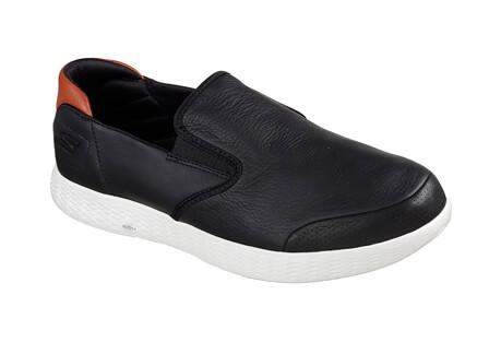Skechers Leather Slip Ons - Men's