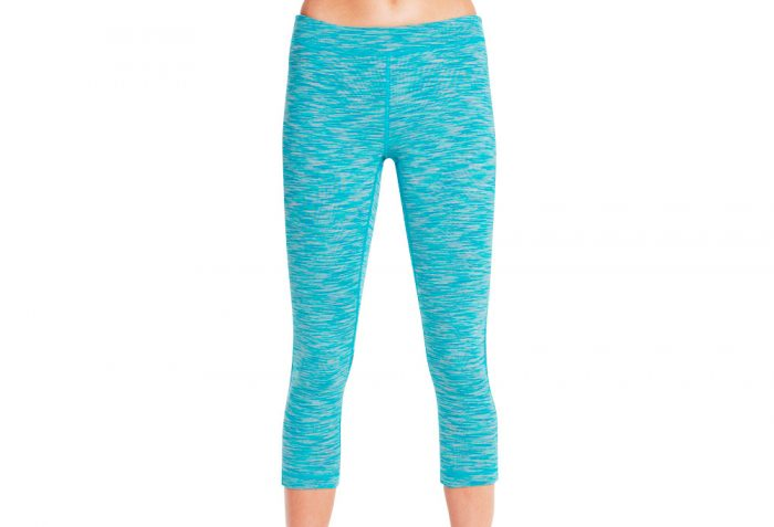 Skechers Solstice Midcalf Legging - Women's - teal, medium