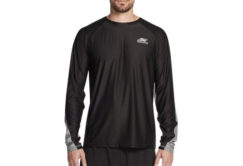 Skechers Sprint Long Sleeve Shirt - Men's - black, medium