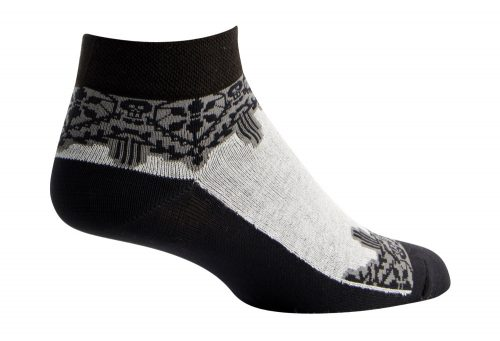 "Sock Guy Lacey 1"" Socks - Women's - black/white, s/m"