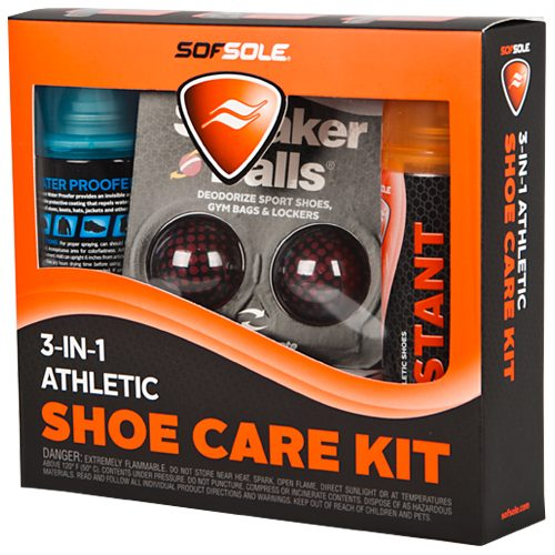 Sof Sole 3-in-1 Athletic Shoe Care Kit: Sof Sole Shoe Care