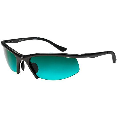 Solar Bat Leverage XZ Black Tennis Sunglasses: Solar Bat Sunglasses