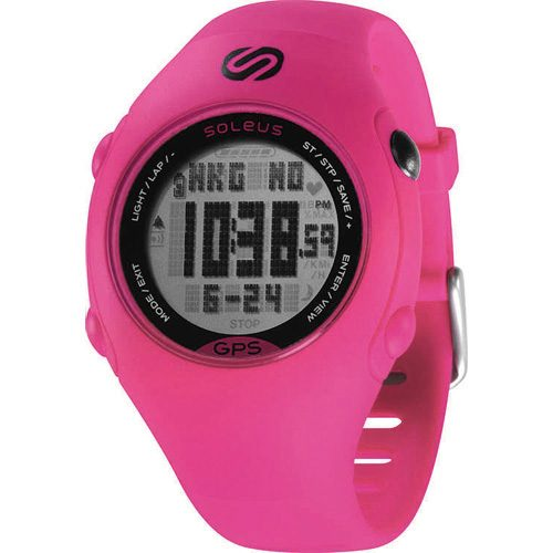 Soleus Mini GPS Pink/Black: Soleus GPS Watches