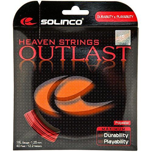 Solinco Outlast 16L 1.25: Solinco Tennis String Packages