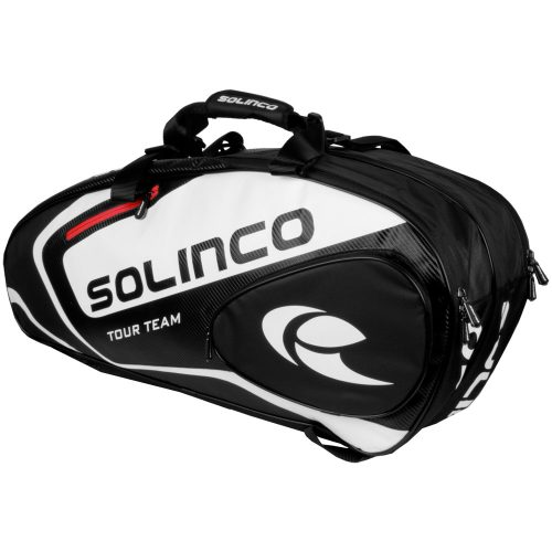 Solinco Tour 6-Pack Racquet Bag Red: Solinco Tennis Bags