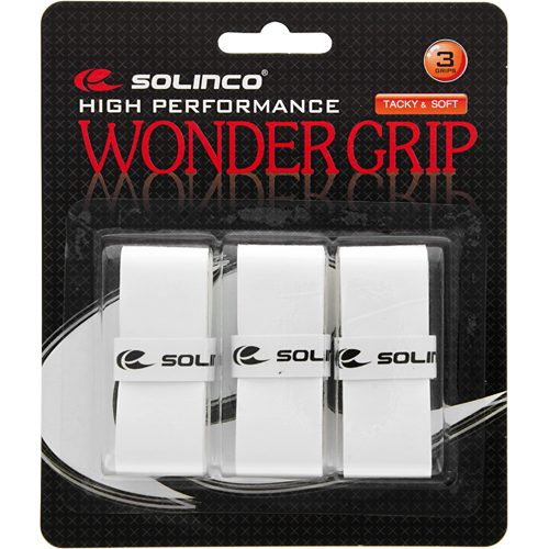 Solinco Wonder Overgrips 3 Pack: Solinco Tennis Overgrips