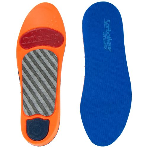 Sorbothane Ultra Graphite High Arch Insoles: Sorbothane Insoles