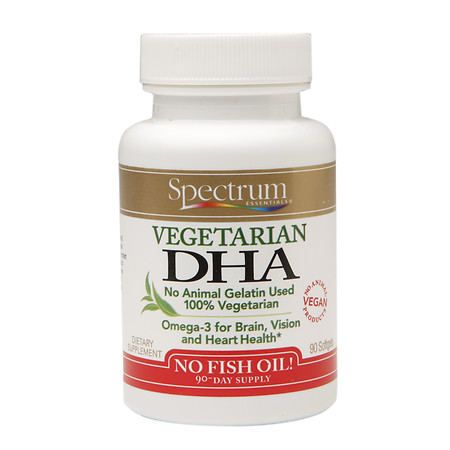Spectrum Essentials Vegetarian DHA, Softgels - 90 ea