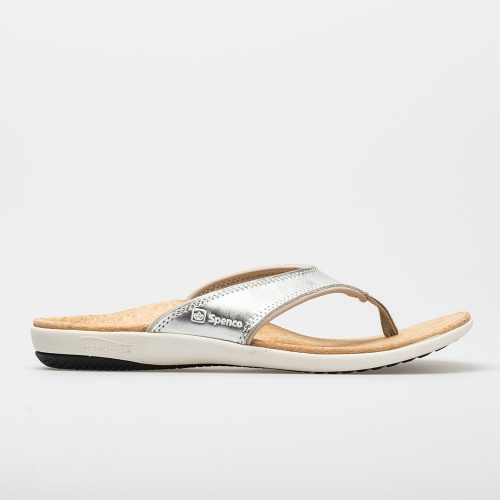 Spenco Yumi Metallic: Spenco Women's Sandals & Slides Silver