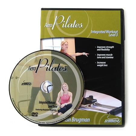 Stamina Level 3 Integrated AeroPilates DVD - 1 Ea