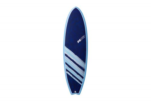 Surftech NSP 04 Cocomat Fish Surf VC 6'4 Surfboard - blue, one size