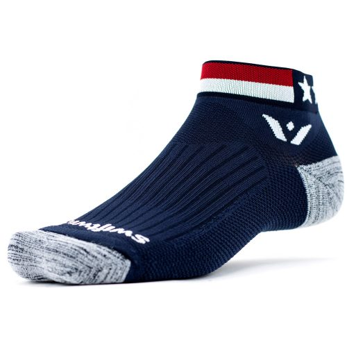 Swiftwick Vision One Spirit American: Swiftwick Socks