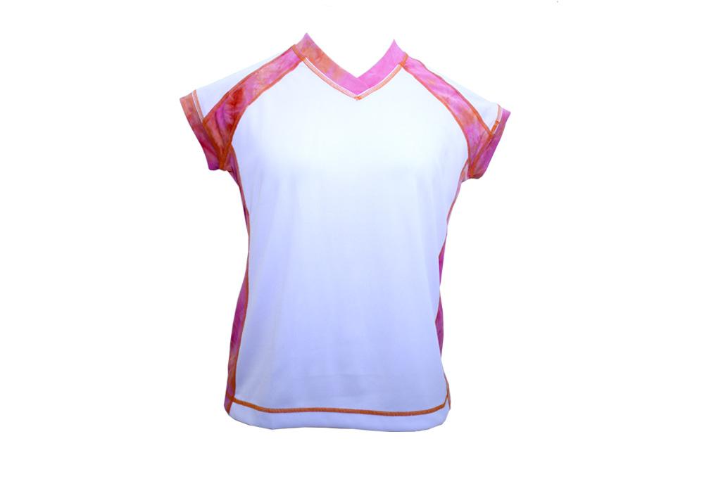 SwirlGear Capped Sleeve Shirt - Womens - painted desert, xsmall