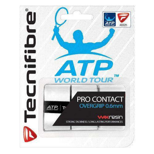Tecnifibre ATP Pro Contact Overgrip 3 Pack: Tecnifibre Tennis Overgrips