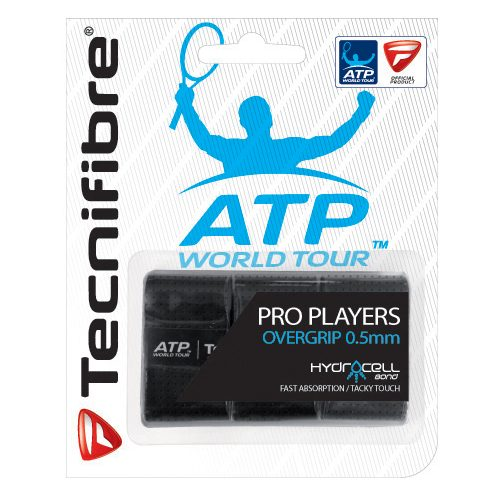 Tecnifibre ATP Pro Players Overgrip 3 Pack: Tecnifibre Tennis Overgrips