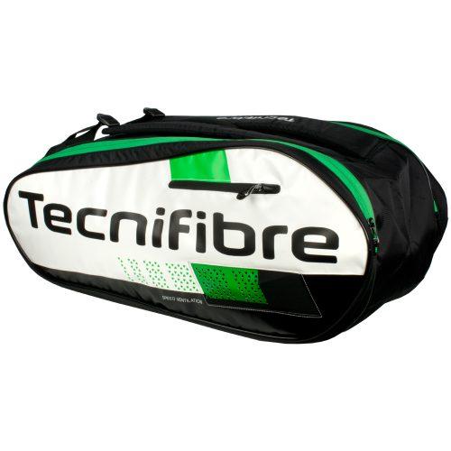 Tecnifibre Green Squash 9 Racquet Bag: Tecnifibre Squash Bags