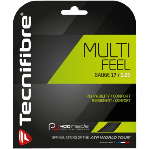 Tecnifibre Multifeel 17 1.25: Tecnifibre Tennis String Packages