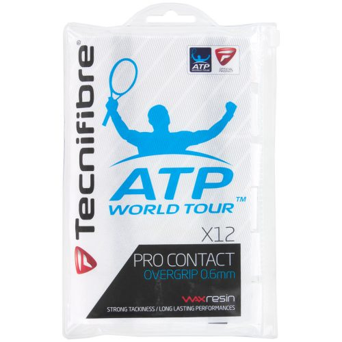 Tecnifibre Pro Contact Overgrips 12 Pack: Tecnifibre Tennis Overgrips